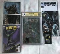 Lot Of Batman!Detective Comics #1000 Convention Edition SS CGC 9.8 + 6 Free