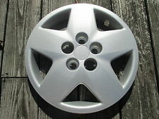 One genuine 2003 to 2005 Neon 14 inch bolt on hubcap wheel cover