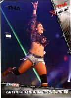 TNA Mickie James #93 2010 Xtreme SILVER Parallel Card SN 31 of 40