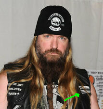 Black Label Society Vest / Flag / Patch / Patches / Ozzy / Zakk Wylde / BLS