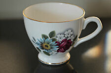 Elizabethan Rose and Daisy Cup by Taylor & Kent made in England #I