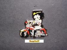 BETTY BOOP PIN LOT BIKER DESIGN 2 PIECES (RETIRED ITEMS)