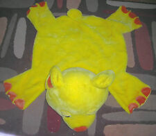 Restore and Restyle baby yellow bear floor mat baby activity mat pad 22 inches