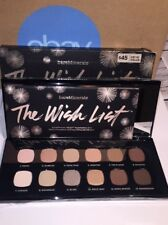 New Bare Escentuals Bare Minerals The Wish List READY Eyeshadow Palette 12.0