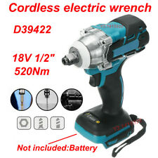 "Cordless Brushless Impact Wrench 18V 520Nm 1/2"" Body For Makita Battery DTW285Z"