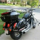 UNIVERSAL Black TOUR PACK HARLEY Softail Dyna Electra Glide Road King Touring