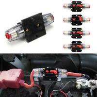 1xDC12V-24V Car Circuit Breaker Reset Inline FuseInverter Audio/Video SystemTool
