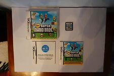 New Super Mario Bros Ds Nintendo game original genuine box manual complete 2006