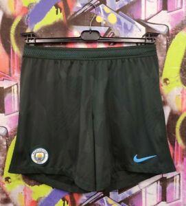 Manchester City England MCFC Football Soccer Training Shorts Nike Mens size S/M