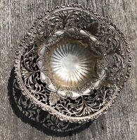 1892 Early ORNATE GORHAM Reticulated STERLING SILVER CENTERPIECE BOWL