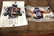 2018 Auburn Tigers Football Schedule A Day & Fan Day Poster Lot Stidham