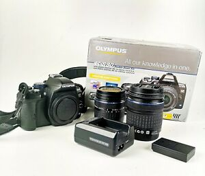 Olympus E-620 DSLR Camera : 2-Lens Kit : Boxed : Excellent