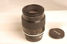 Nikon Micro-NIKKOR 105mm f4 AI Manual Focus Lens Very Sharp Functional