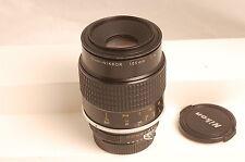 Nikon Micro-NIKKOR 105mm f4 AI Manual Focus Lens Very Sharp Functional