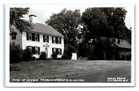 Postcard Home of Hayden Pearson-Greenfield, NH Kodak 1950+ RPPC J43