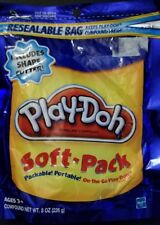 Play-Doh Soft Pack and 1 Shape Cutter - 8 oz. Blue New