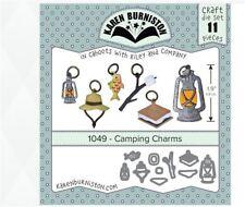 KB Riley- Karen Burniston Cutting Die Set ~ CAMPING CHARMS 3D Card Making ~1049