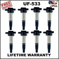 8 NEW IGNITION COILS LAND ROVER 4.2L 4.4L V8 SUPERCHARGED C1678 UF533 AJ810445
