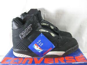 Vintage Converse Cons Accelerator Hi-Top Basketball Shoe Size 8 Black/Gray NIB