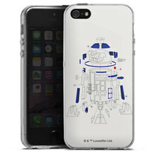 Apple iPhone 5 Silikon Hülle Case - R2D2 Explosionszeichung - StarWars 8