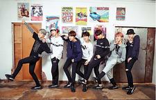 BTS/Bangtan Boys PUMA Clothing FD Trim Crew 897915-02 White Sz XL 100% AUTHENTIC