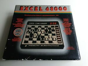 Fidelity Excel 68000 Mod. 6094 Schachcomputer