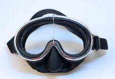 Vintage Cressi Sub Dive Mask, Super Pinocchio Brevettato, Scuba Snorkeling