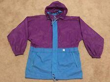 K-Way K Way France Pack Away Nylon Vintage Gym Rain Wind Jacket Men's Sz S