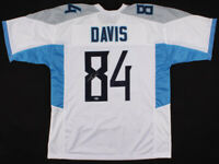 Corey Davis Signed Tennessee Titans Football Jersey Beckett Autograph Authentic!