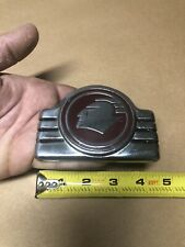 Original Pontiac Silver Bumper Trunk Hood emblem ornament badge Metal 38 39 40