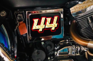 Personalized DYNA Battery Box Number Sticker  FXDC Super Glide Custom harley