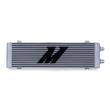 Mishimoto Universal Dual Pass Bar & Plate Oil Cooler Large - Silver