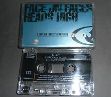 Rare Cassette Demo London DON Face On Faces + Heads High BRIT POP Shoegaze Indie