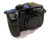 Panasonic Lumix GH4 16MP 4K Mirrorless Camera W/ Battery & Charger - READ DETAIL