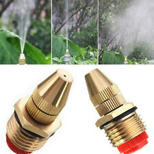 1/2 Inch Brass Sprinkler Garden Lawn Atomizing Water Spray Nozzle Adjustable New