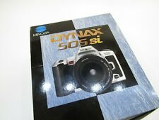 MINOLTA DYNAX 505 SI NEW  IN BOX