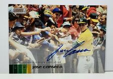 2020 Topps Stadium Club Jose Canseco SP AUTO ON CARD #AJC ROY MVP 2x WS CHAMP 🌠