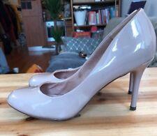 Ladies Next Size 6 Mauve/nude Patent Heels Court Shoe Stiletto High Heel