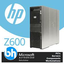 HP Z600 2x Xeon X5650 Hex Core 2.66ghz 24gb DDR3 RAM PC BAREBONES