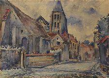 Raymond LE TOURNEUR DU BREUIL(1876-1950) Groslay sur Oise,val d'Oise école Lyon