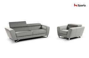 DIV-Sparta Leather Sofa by Nicoletti (Italy) by matisseco