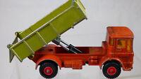 Lesney 1969 Matchbox Kingsize K-4 Leyland Tipper Truck Lorry Toy W Label