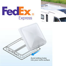 """2x Camper Trailer Rv Roof Air Vent Cover Replacement Parts Waterproof 14"""" x 14"""""""