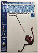 Warrior #3 (1982) Uk Quality Magazine MarvelMan V Vendetta Alan Moore Vf 8.0