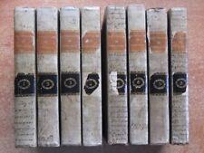 DICTIONNAIRE DE THEOLOGIE PAR L'ABBE BERGIER EN 8 TOMES -1829- RELIGION