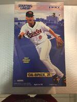 """1997 Starting Lineup CAL RIPKEN, Jr. 12"""" Fully Poseable Figure -Baltimore Oriole"""