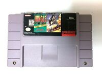 Jungle Strike: Sequel to Desert Strike Super Nintendo Game SNES Tested + Working