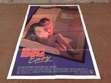 1987 The Big Easy Original Movie House Full Sheet Poster