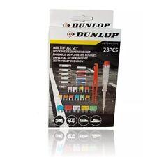 KFZ Sicherungs Set Sicherungsset Autosicherungen Eurosicherungen 28 Teile Dunlop