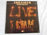 Thrasher Brothers, Live, Vinyl lp,   Canaan,Cas-9840.
